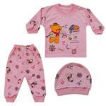 ست 3 تکه لباس نوزاد کد D-02