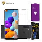 محافظ صفحه شیشه ای تمام صفحه تمام چسب OG سامسونگ Samsung Galaxy A21 / A21s OG 2.5D Mocol Glass...