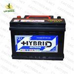 باتری خودرو ۶۶ آمپر سیلد هیبرید های تک