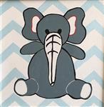تابلو نقاشی اتاق  کودک طرح فیل کد 11