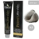 رنگ مو پرمیت سری دودی مدل بلوند دودی خیلی روشن شماره 9.2 PERMIT Hair Color