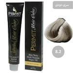رنگ مو پرمیت سری دودی مدل بلوند دودی روشن شماره 8.2 PERMIT Hair Color