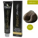 رنگ مو پرمیت سری زیتونی مدل بلوند زیتونی تیره شماره 6.3 PERMIT Hair Color