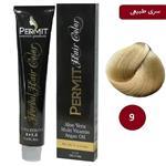 رنگ مو پرمیت سری طبیعی مدل بلوند خیلی روشن شماره 9 PERMIT Hair Color