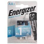 باتری قلمی انرجایزر 2 عددی مکث پلاس (ENERGIZER BATTERY MAX PLUS AA)