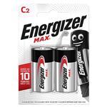 باتری متوسط انرجایزر 2 عددی مکث (ENERGIZER BATTERY MAX C)