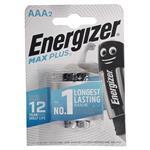 باتری نیم قلمی انرجایزر 2 عددی مکث پلاس (ENERGIZER BATTERY MAX PLUS AAA)