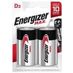 باتری بزرگ انرجایزر 2 عددی مکث (ENERGIZER BATTERY MAX D)