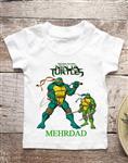 تیشرت تولد طرح لاکپشت های نینجا (کد۳)