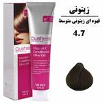رنگ موی قهوه ای زیتونی متوسط دوشس سری زیتونی شماره ۴٫۷ DUSHESS