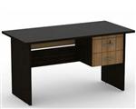 میز کارمندی مدل ساده  دوکشو  120 سانتیمتر