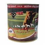کنسرو سگ پوتی با گوشت قرمز و سفید 800 گرمی