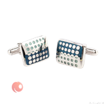 MSKOO Cufflinks and Tieclip set Enamel design