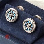 MSKOO Mashdo Cufflinks with Enamel design