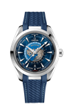 ساعت مچی مردانه امگا سوئیس Omega- AQUA TERRA 150 M- CO-AXIAL MASTER CHRONOMETER GMT WORLDTIMER