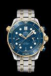ساعت مچی مردانه امگا سوئیس Omega-DIVER 300M- CO-AXIAL MASTER CHRONOMETER CHRONOGRAPH 44 MM r