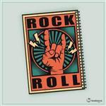 دفتر یادداشت Rock Music 15
