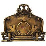 ساعت رومیزی برتاریو مدل پارسه مشکی طلایی