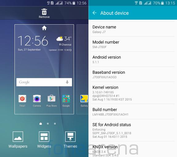 سامسونگ j7 سامسونگ J7 Samsung Galaxy J7 Home and About