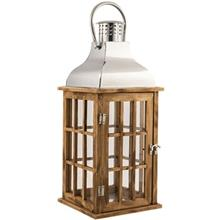 25288 Decorative Wooden Lantern