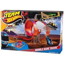 کيت ماشين بازي متل سري Hot Wheels مدل Double Dare Snare کد X0169