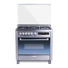 Hardeston Flornce-Z-L Silver Gas Stove - Single Oven