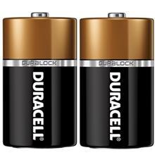 Duracell Duralock Alkaline D Battery Pack Of 2