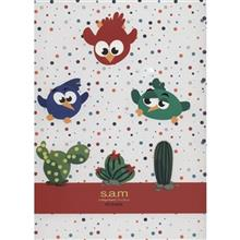 Sam Angry Birds Design Homework Notebook