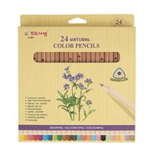 Yalong Natural 24 Color Pencil