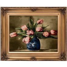 تابلو فرش گالری سی پرشیا طرح گل لاله کد 901141