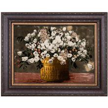 تابلو فرش گالری سی پرشیا طرح گل لاله در گلدان کد 911018