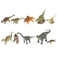 مجموعه عروسکي کالکتا مدل Mini Dinosaur A1102 بسته 10 عددي