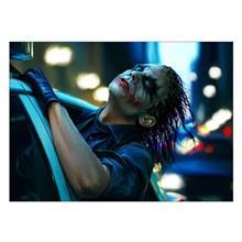 تابلوی ونسونی طرح Joker Police سایز 50x70