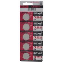Maxell Lithium CR2025 minicell Pack Of 5