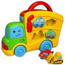 Blue Box Sirens Sounds Puzzle Truck Puzzle