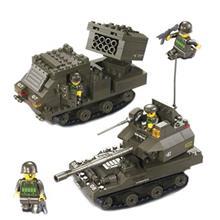 اسباب بازي ساختني اسلوبان مدل  Army Armored Corps Ground Bombing M38 B0288