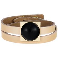 دستبند طلا 18 عيار تاج درسا مدل 199Cr-Bl