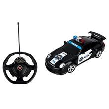 ماشين بازي کنترلي اي پي تويز مدل Police Car Porsche 911