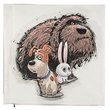 Yenilux Dog and Rabbit Cushion Cover