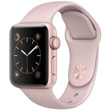 ساعت مچی هوشمند اپل واچ مدل 38mm Rose Gold Case with Pink Sand Band