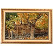 تابلوفرش چله ابریشم گالری مثالین طرح باغ توت کد25030