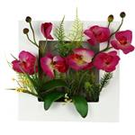 تابلو گل مصنوعی هومز طرح ارکیده مدل 31576