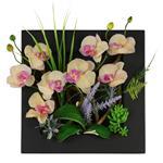 تابلو گل مصنوعی هومز طرح ارکیده مدل 31575