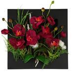 تابلو گل مصنوعی هومز طرح ارکیده مدل 33575