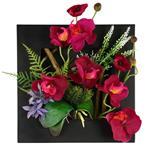 تابلو گل مصنوعی هومز طرح ارکیده مدل 33576