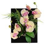 تابلو گل مصنوعی هومز طرح ارکیده مدل 33578