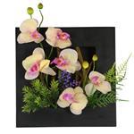 تابلو گل مصنوعی هومز طرح ارکیده مدل 35576