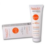 کرم ضد آفتاب بی رنگ مناسب برای انواع پوست SPF63 دکتر ژیلا 50 گرم