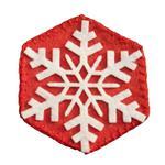 زیر لیوانی روبینا طرح برف بسته 4 عددی