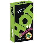 کاندوم هات مدل Mint Aroma بسته 12 عددی